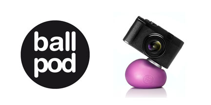 With the BallPod, you can put your camera (any camera) anywhere. W especially like the SmartFix adapter for smartphones.