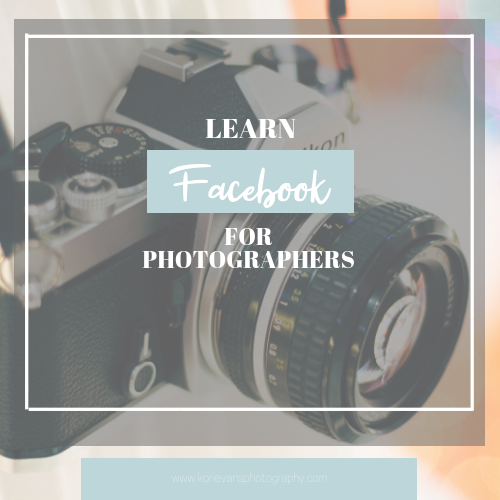 Learn Facebook For Photographers -