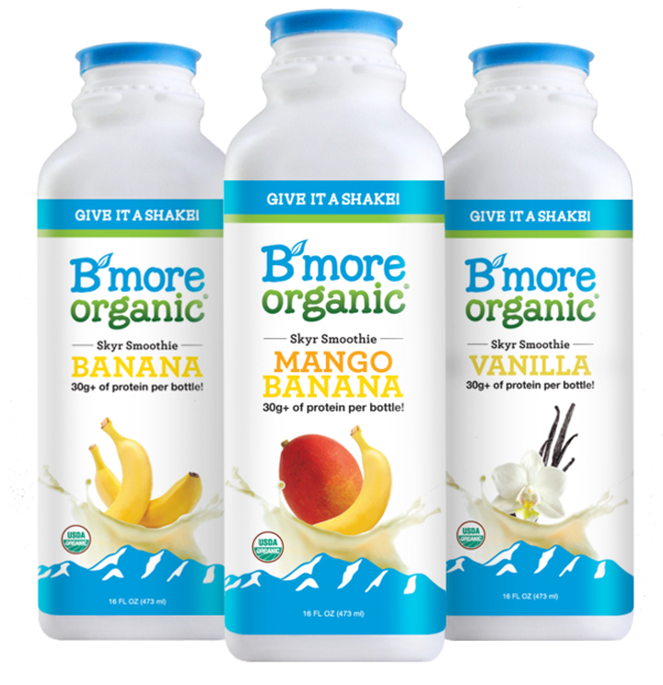 B'More Organic Skyr Smoothies