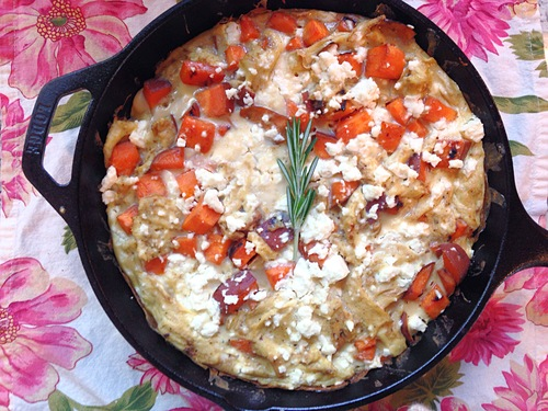 Sweet Egg Frittata