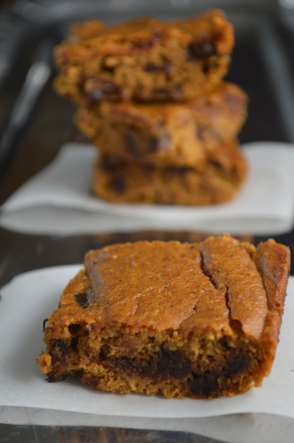 Sweet Potato Blondies