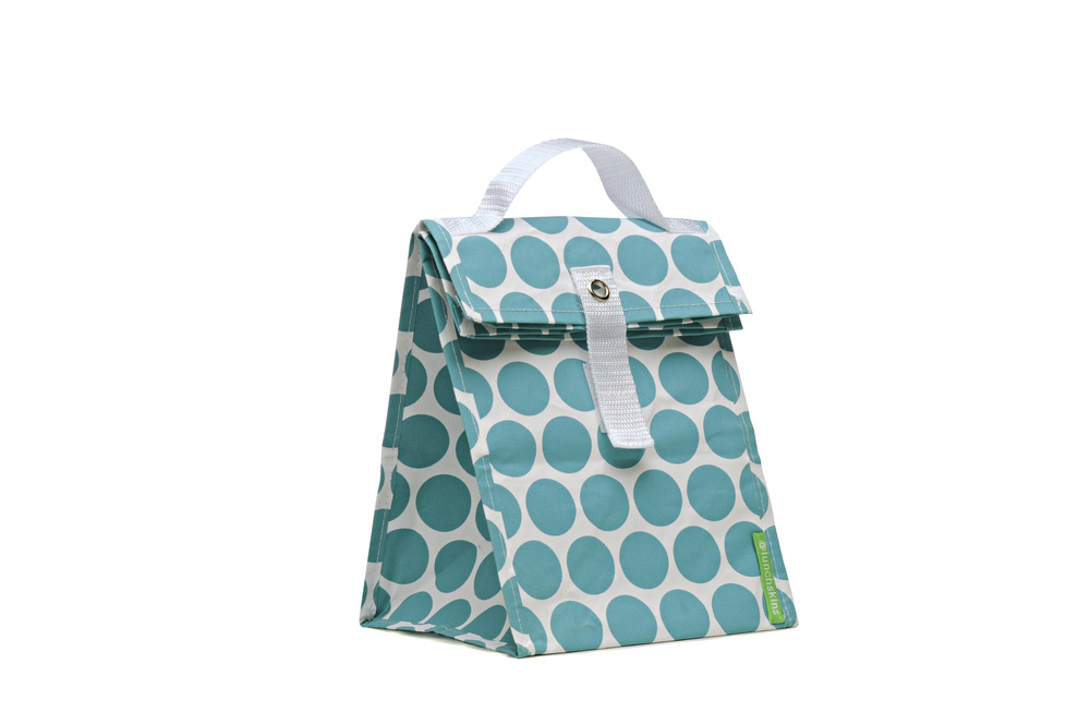 lunch tote-aqua dot.jpg