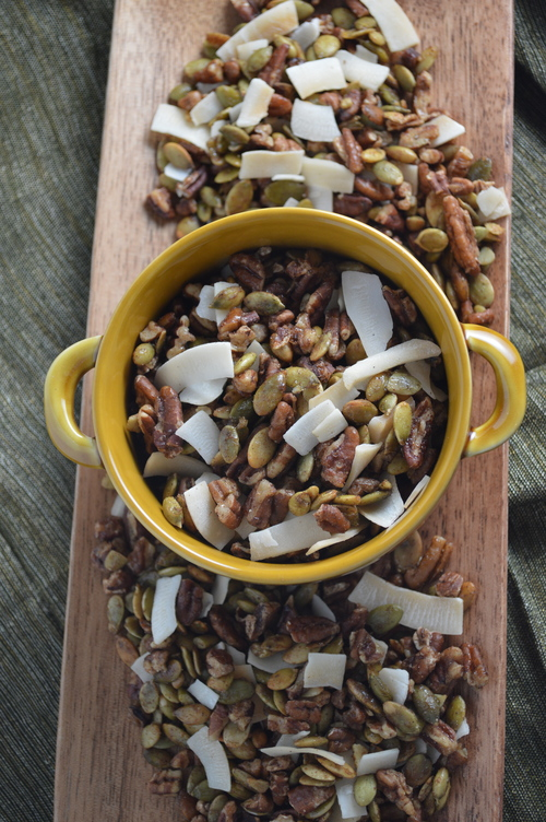 Spiced Seed & Nut Mix