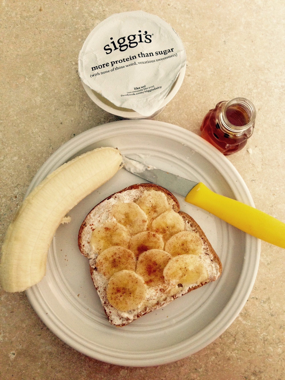 Banana Breakfast Toast