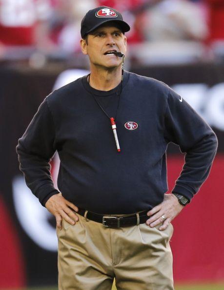 jim harbaugh s wife hates his pants lance cartelli