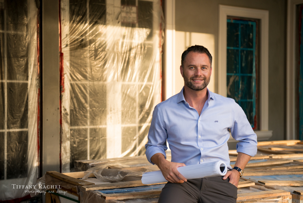 J.P. DiMisa, second-generation luxury home builder and developer with 15 years of local experience.