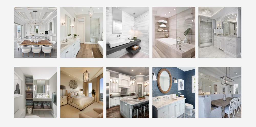 Our award winning work was the 2019 Houzz award winner for Best Design in 2019 & 2018, for the Florida Metro region of the nationwide website.
