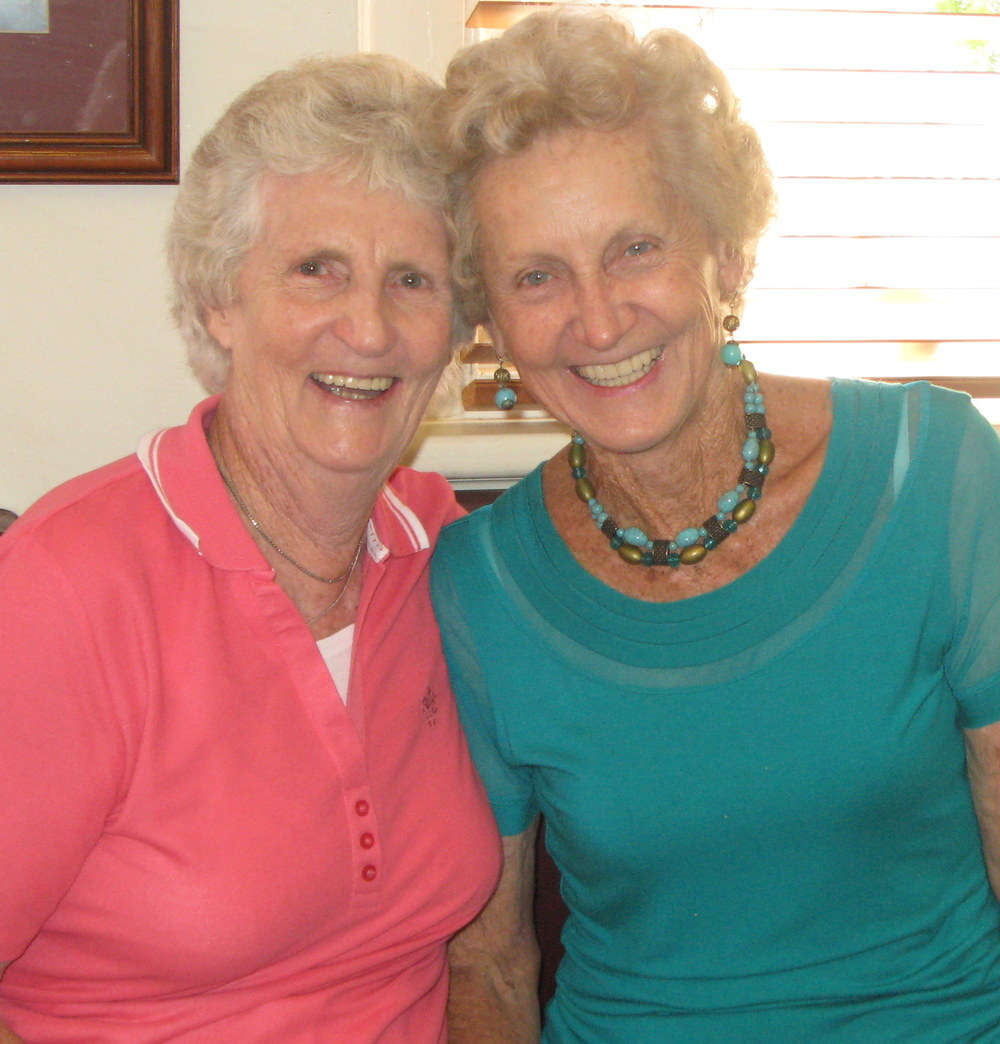 Two of our long serving Volunteers