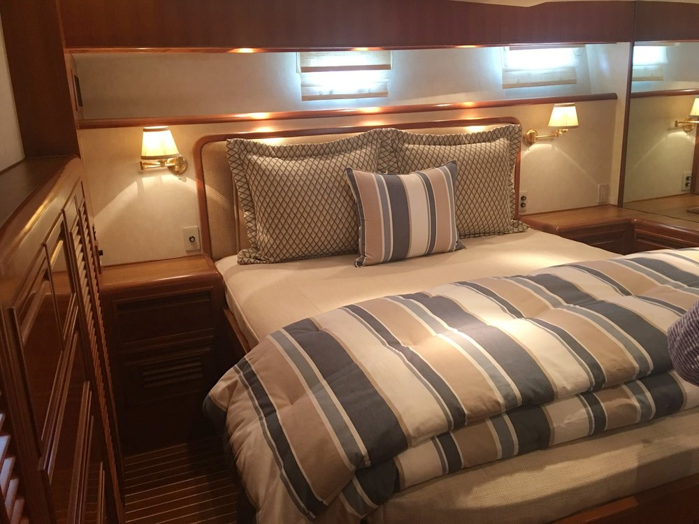yacht master bedroom