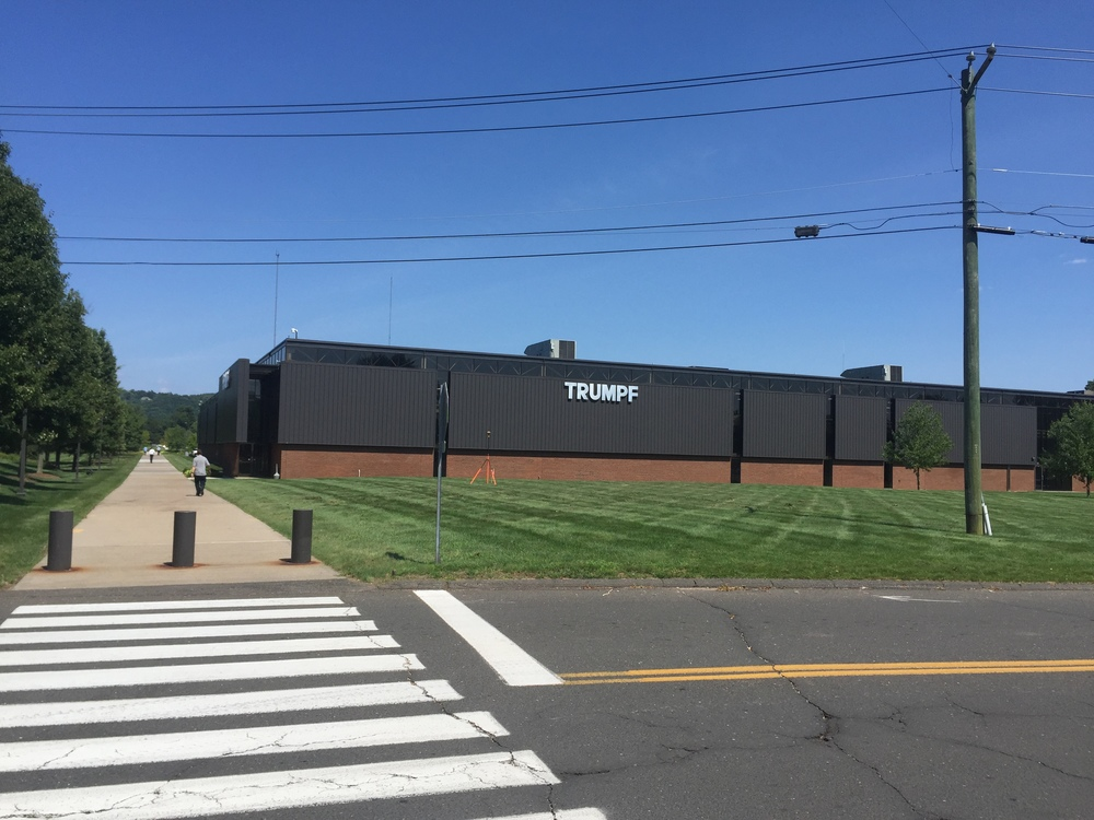 One of five TRUMPF, Inc. buildings on the campus