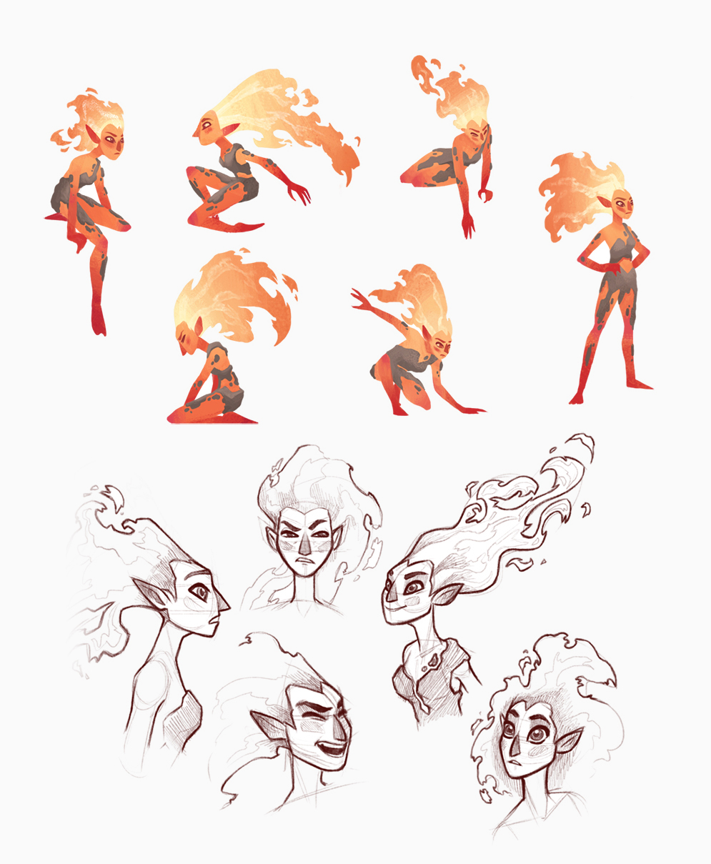 Fire Girl Concepts