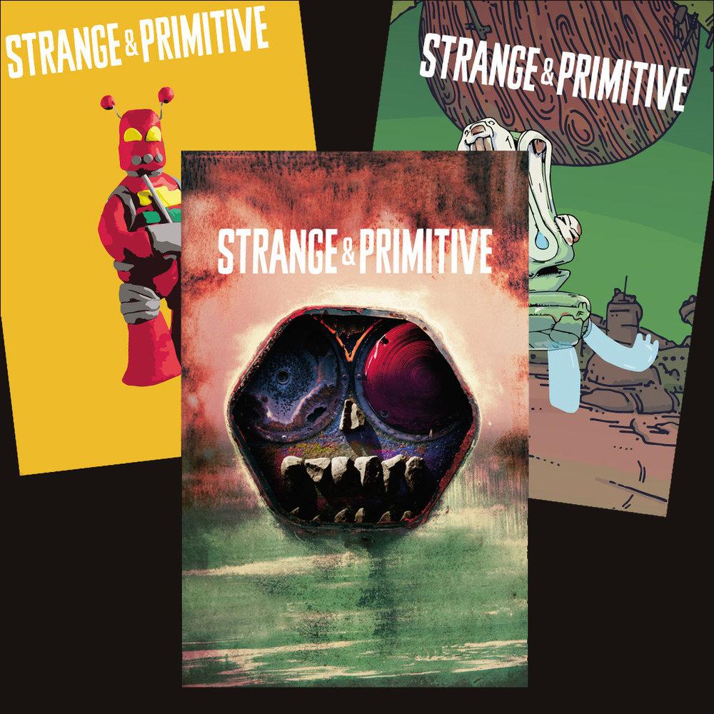 STRANGE & PRIMITIVE - PRINT POSTER BUNDLE