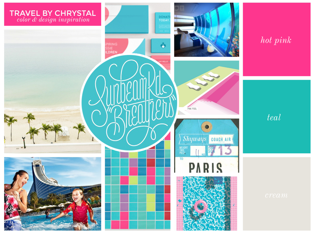THE BEACH | SUNBEAM | FAMILY CRUISE | CARDS | TILE | SUITE | POOLSIDE | LUGGAGE TAG | THE POOL