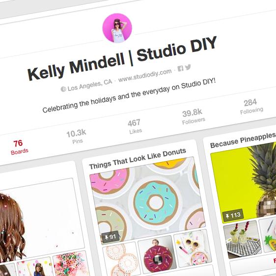 Kelly Mindell |  Studio DIY