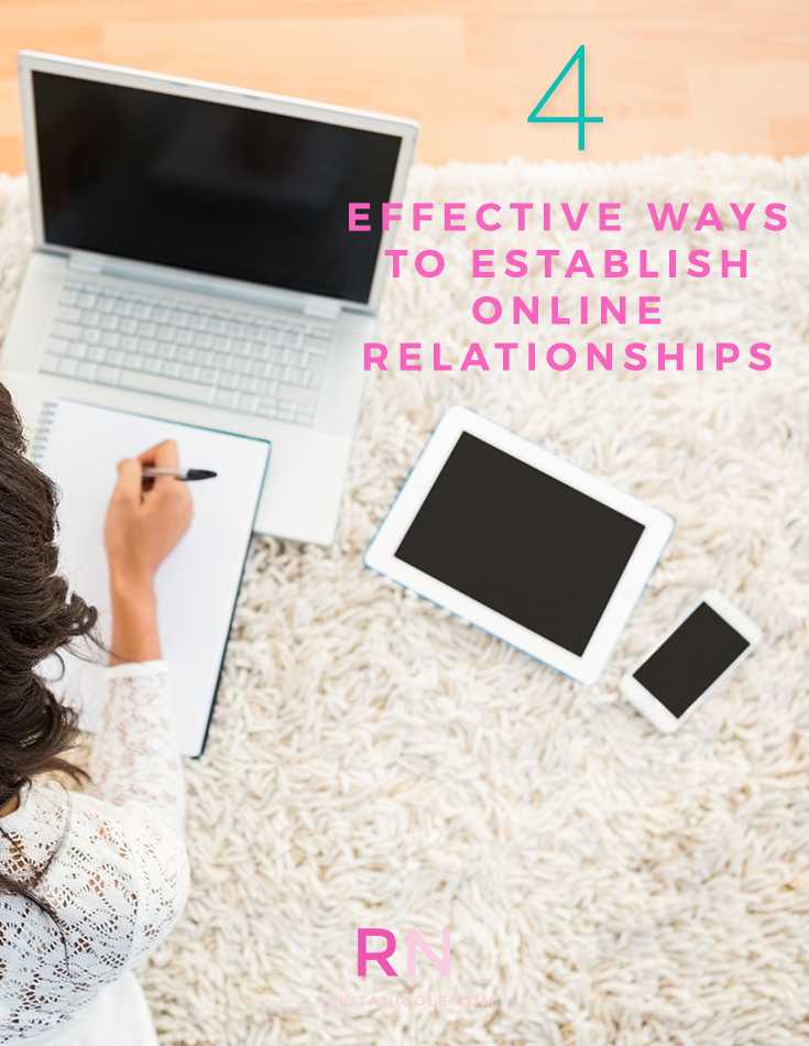 4 Effective ways to establish Online Relationships