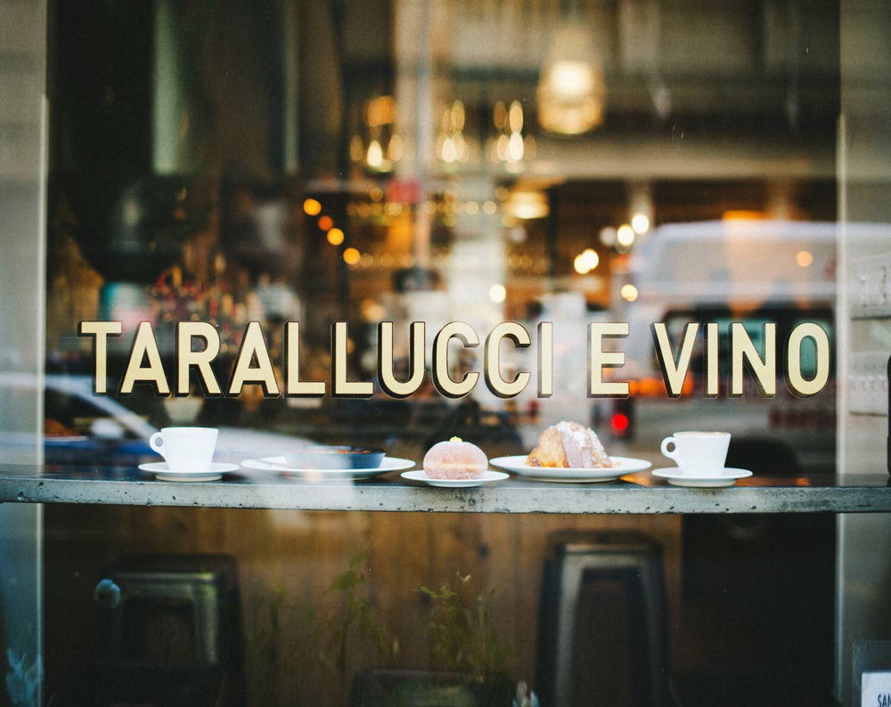 Tarallucci e Vino, New York