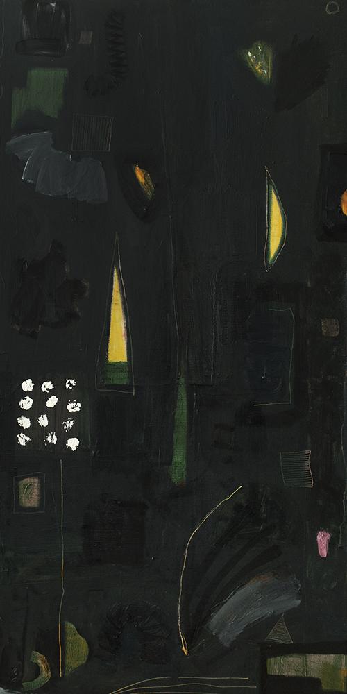 "48"" x 24""Canvas & Oil / 2018"