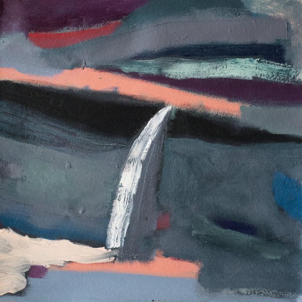 """Edmunds Wreckage 16"""" x 16"""" Canvas & Oil"""