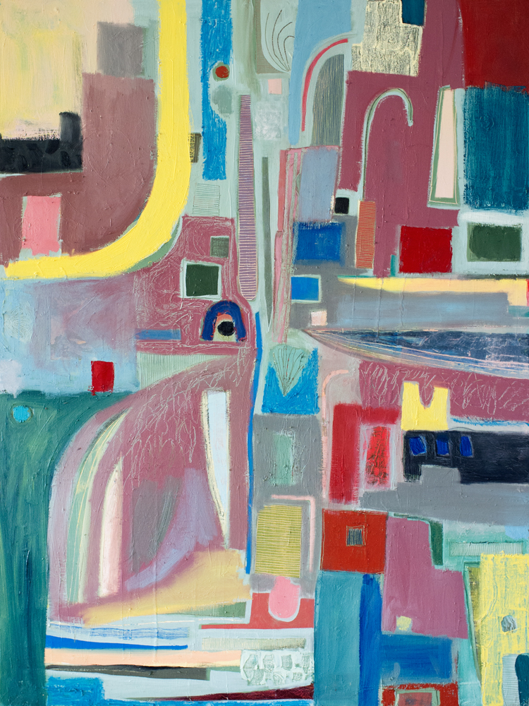 "48""x24"" Oil on Canvas"