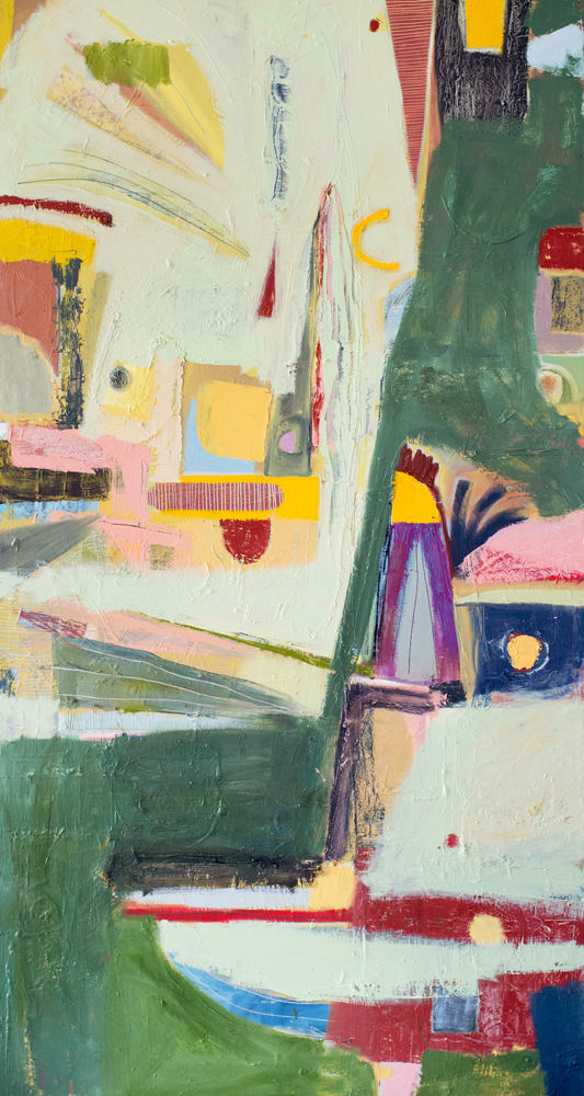 "60""x30"" Oil on Canvas"