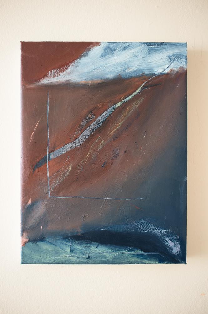 "16""x12"" Oil on Canvas"