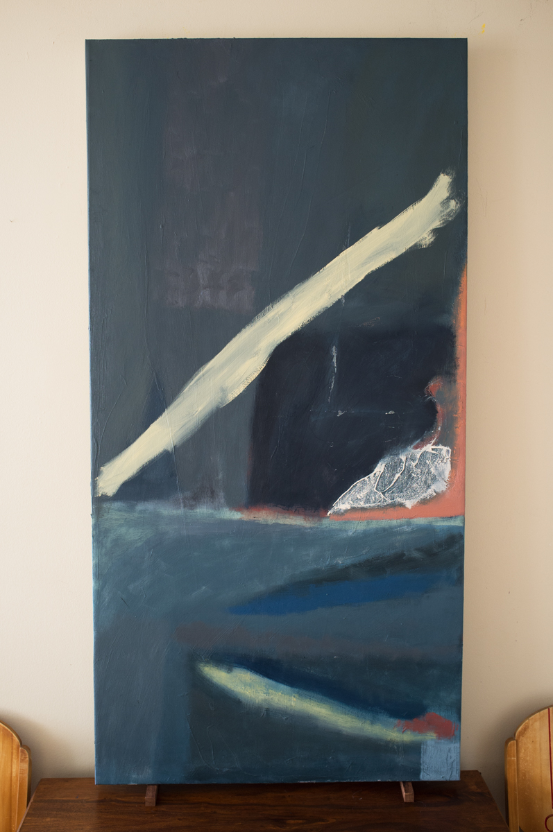 """Fass 3 60""""x30"""" Oil on Canvas"""