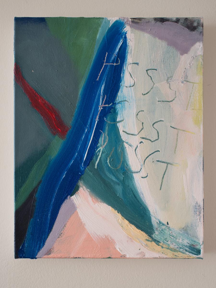 "16""x11"" Oil on Canvas"
