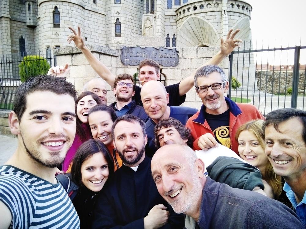 El mejor selfie de peregrinos jamás visto