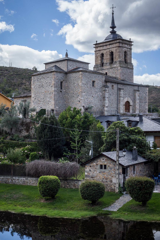 El pueblo de Molinaseca