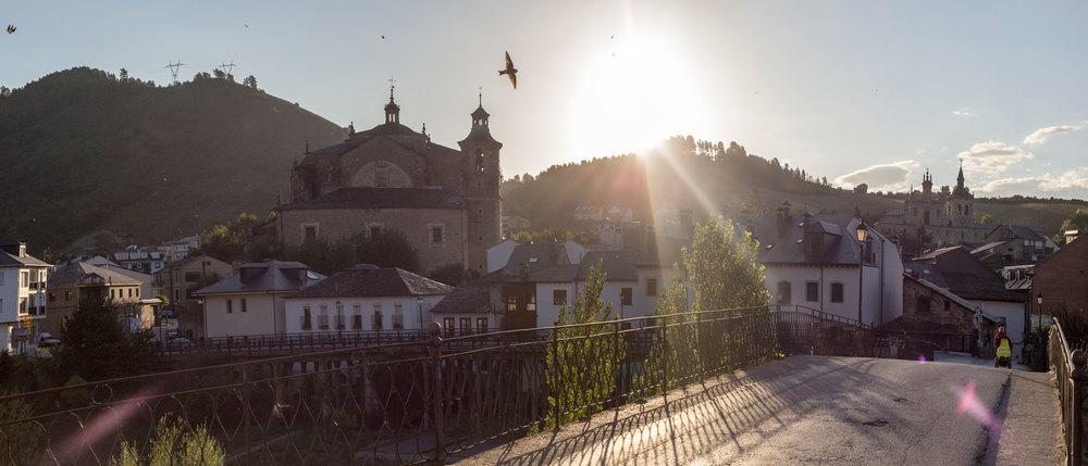 The gorgeous Villafranca del Bierzo