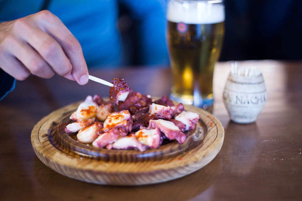 """The famous """"Pulpo áfeira""""!"""