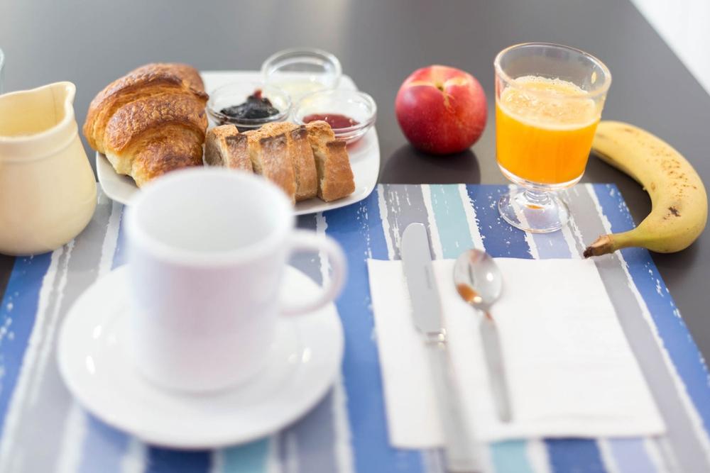 Un desayuno de campeones