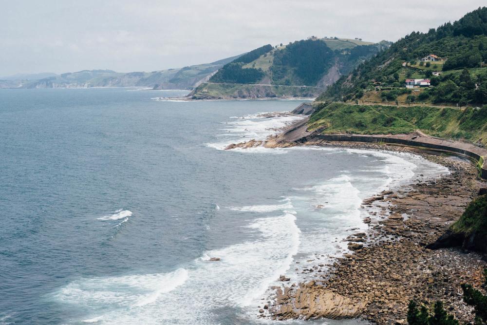 Uno de los elementos más bonitos del Camino del Norte: ¡el mar!