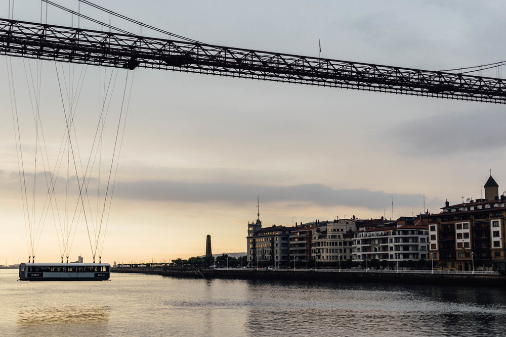 ¡El puente de Vizcaya!