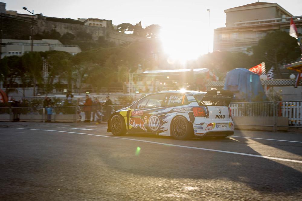 Port Hercule de Monaco - Exhibición WRC en 2015