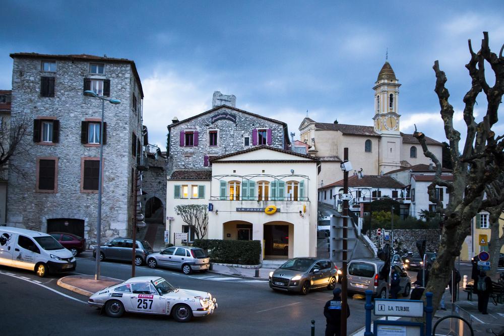 La Turbie - Rallye Histórico de Monte-Carlo en 2014