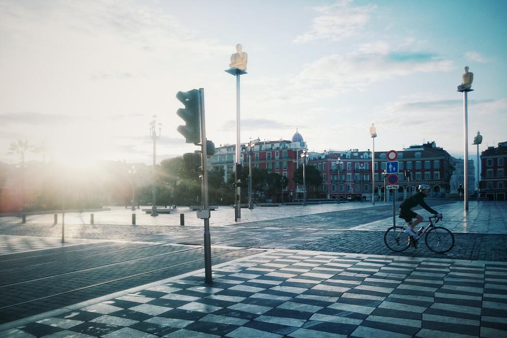 Sinónimo del ciclista: madrugador