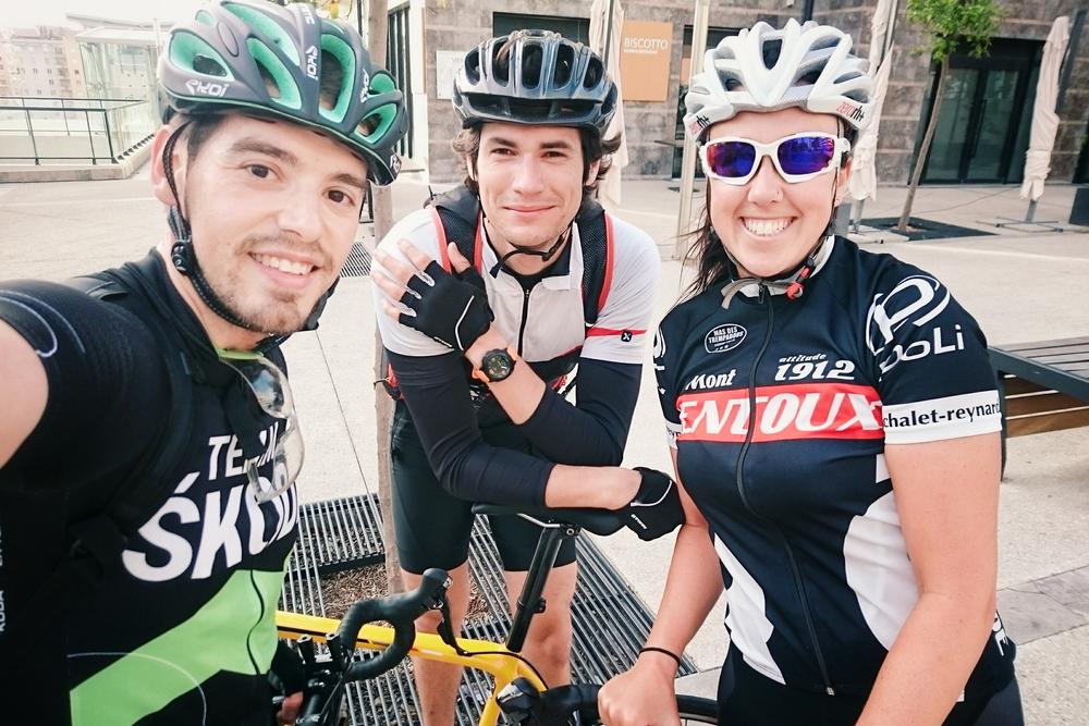 Karen, Matthieu et moi