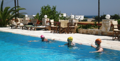 Pool Training in Greece