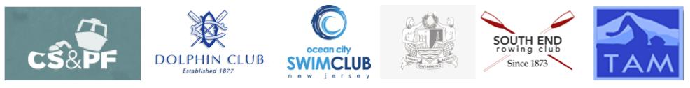 Sampling of Swim Club Logos