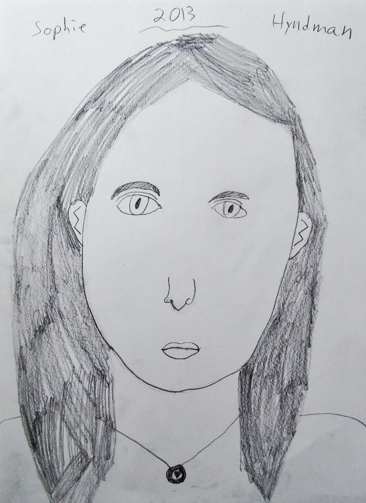 Sophia, age 8