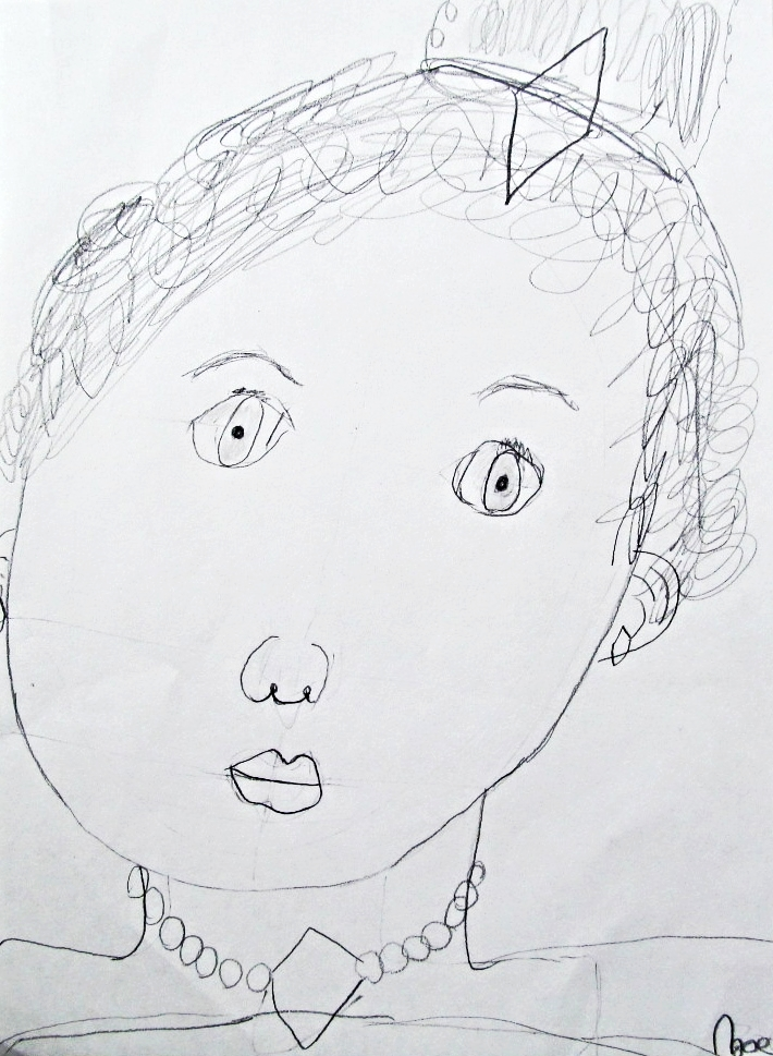 Zoe Kl, age 7