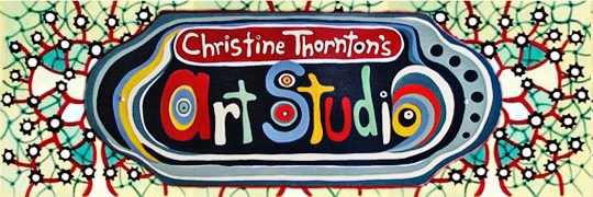 Christine Thornton's Art Studio