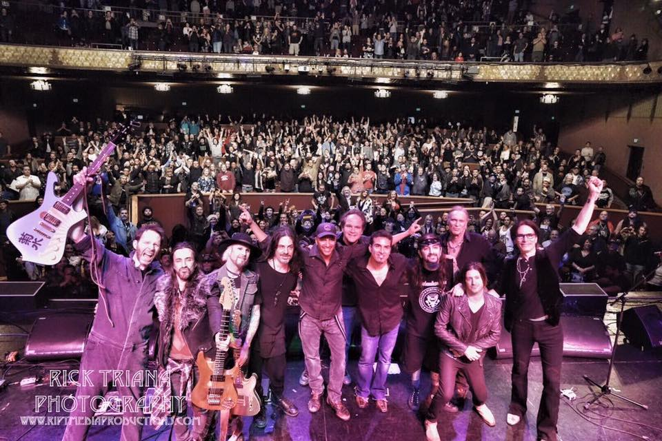 I had a fantastic time playing with Steve Vai, Richie Kotzen, Nuno Bettencourt, John 5, Tom Morello, Billy Sheehan, Derek Sherinian, and Mike Portnoy at the Tony MacAlpine Benefit Concert. Make sure to check out these amazing instruments for sale to further support Tony's recovery.  www.tonymacalpine.com/benefitfortony/ Thank you, Paul