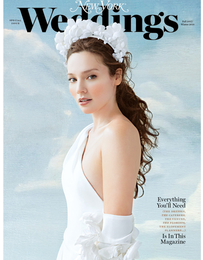 winter 2018 issue of  New York  Weddings