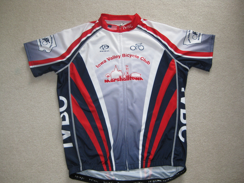 We have received a new order of the IVBC club jerseys.  .  Cost $60. .   Also, we did order a few women's jerseys: however, the supply is limited.  Charlie Smith 752-3929 or   crsmith@mchsi.com