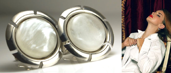 Big, Bold & Beautiful: Cufflinks for ladies