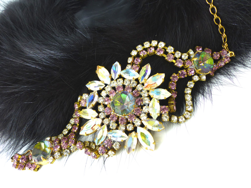 Czech rhinestone rainbow crystal bracelets. The perfect accessory for Fall / Winter for the eclectic look of Ralph Lauren.