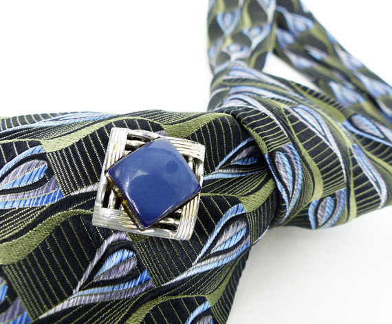 Magnetic tie tack MagTAK. These pins can be worn as a tie tack, hat pin or lapel pin.