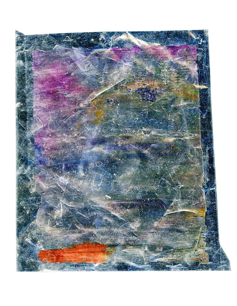 "Inkjet on mylar, 20cm x 16.5cm (8"" x 6.5""), 2012"